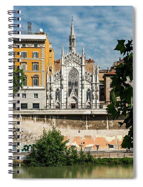 Chiesa Del Sacro Cuore Del Suffragio Spiral Notebook