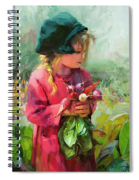 Child Of Eden Spiral Notebook