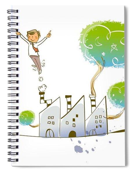 Childhood Dream Spiral Notebook