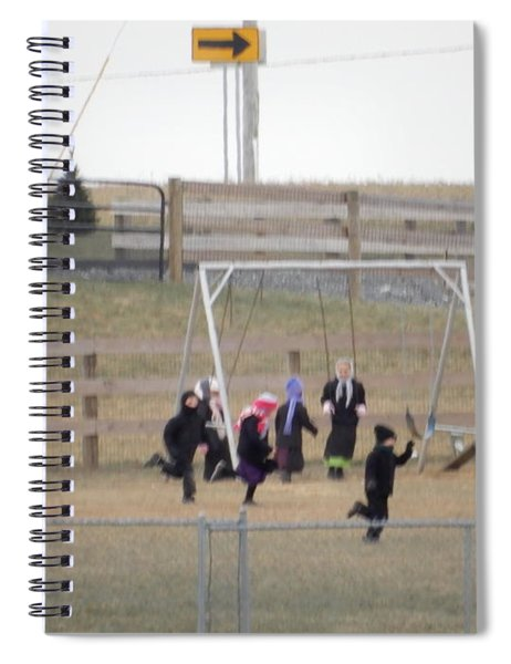 Childhood Joy Spiral Notebook