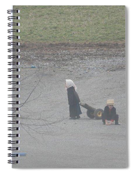 Children At Play Spiral Notebook