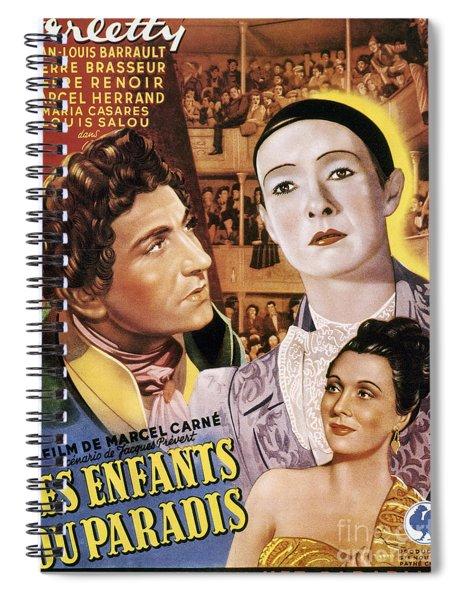 Children Of Paradise, 1945 Spiral Notebook