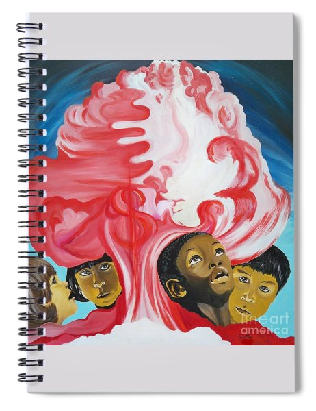 All God's Children.             Children Of The Nuclear Age Spiral Notebook