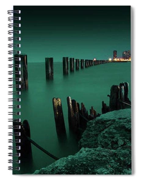 Chilly Chicago Spiral Notebook
