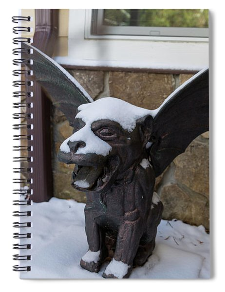 Chimera In The Snow Spiral Notebook