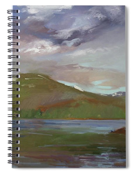 Chimney Rock  At Priest Lake  Plein Air Spiral Notebook