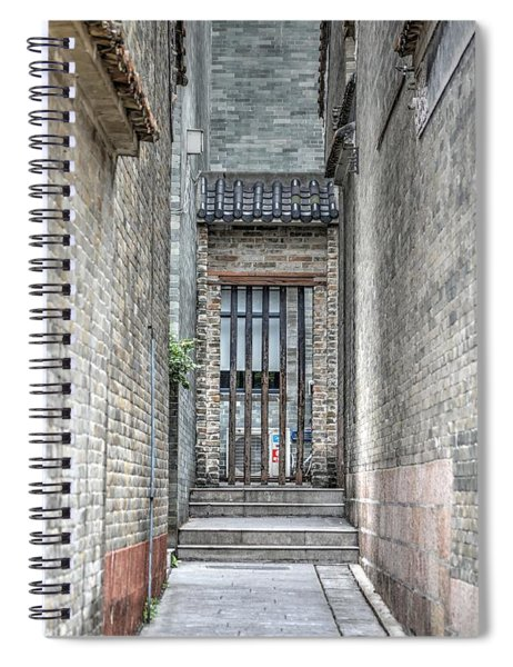 China Alley Spiral Notebook