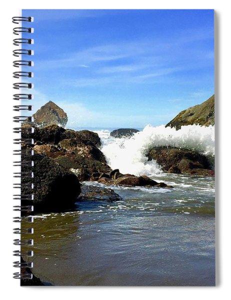 China Beach Spiral Notebook