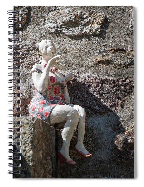 China Girl Spiral Notebook