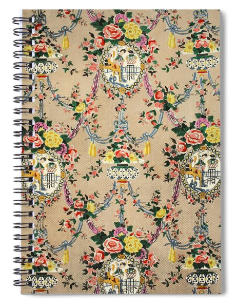 Chinese Chippendale Medallion Spiral Notebook