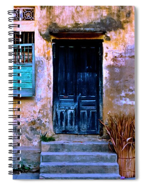 Chinese Facade Of Hoi An In Vietnam Spiral Notebook