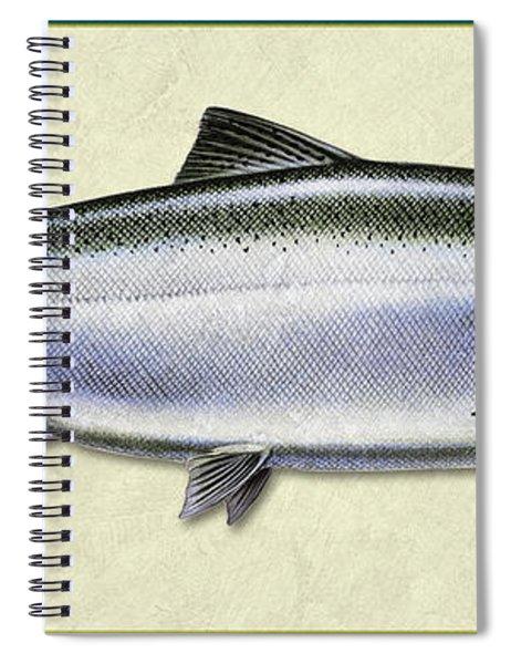 Chinook Salmon Id Spiral Notebook