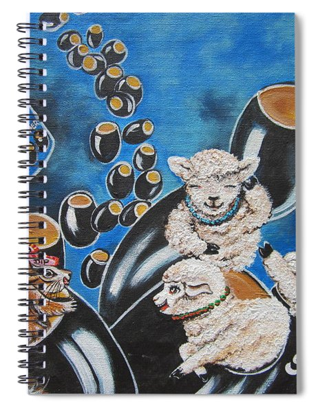 Flygende Lammet  Productions    Like It Or Not  Olive Us On Board  Spiral Notebook