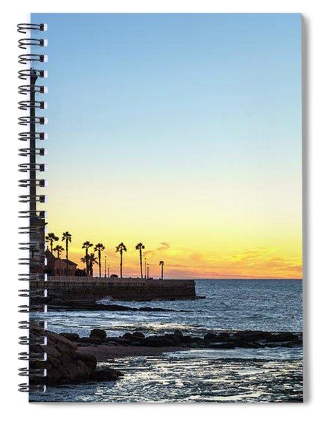 Chipiona Lighthouse Cadiz Spain Spiral Notebook