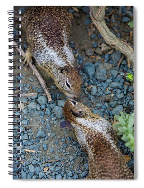 Chipmunk Love Spiral Notebook
