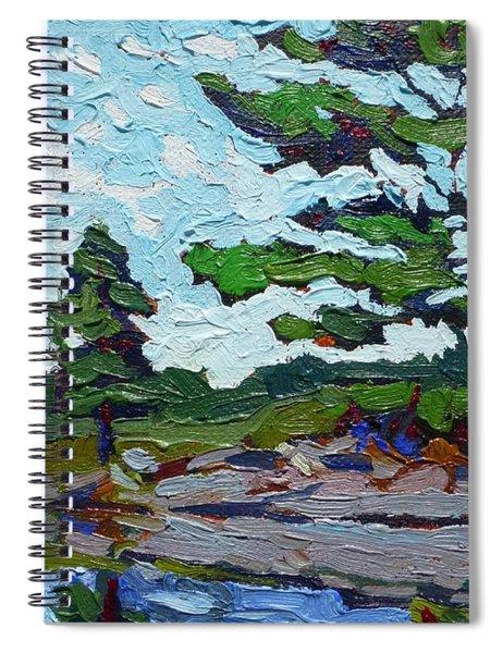 Chip's Elbow Spiral Notebook