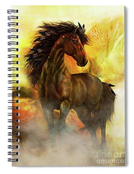 Chitto Spirit Horse Spiral Notebook