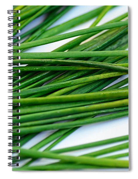 Chives By Kaye Menner Spiral Notebook