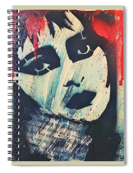 Chocking On The Dirt And Sand Spiral Notebook