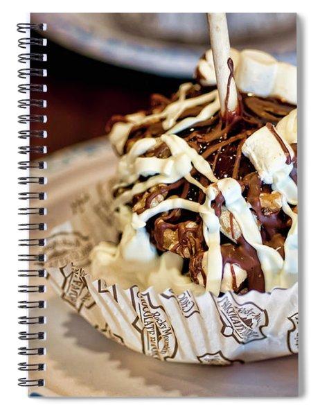 Chocolate Caramel Apple Spiral Notebook