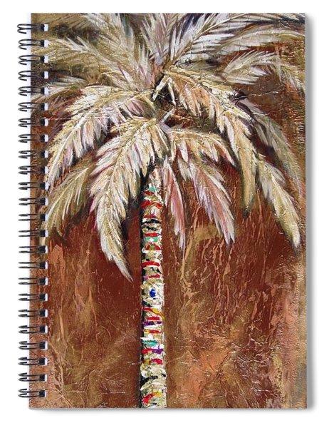 Chocolate Palm Spiral Notebook