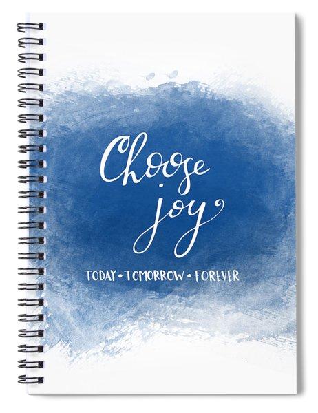 Choose Joy Spiral Notebook