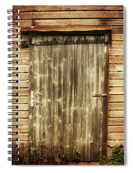 Choose The Middle Door Spiral Notebook