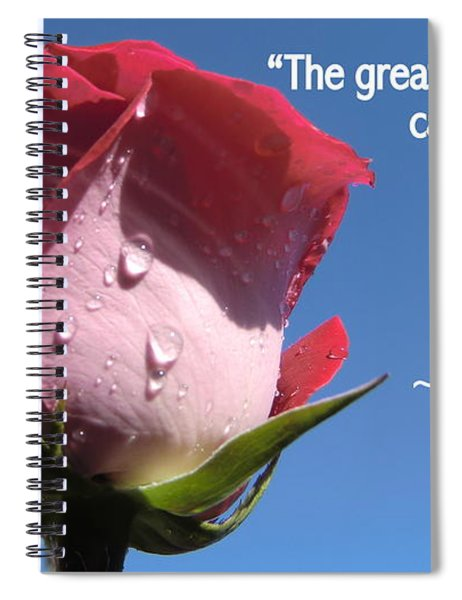 Choose Your Quote Choose Your Picture 24 Spiral Notebook