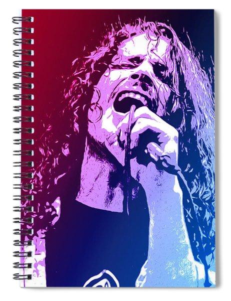 Chris Cornell 326 Spiral Notebook