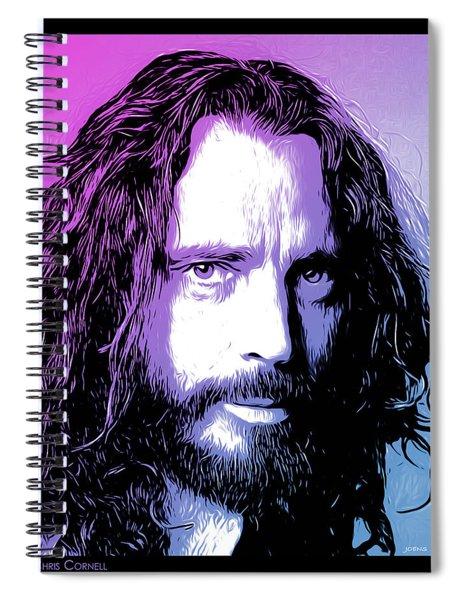 Chris Cornell Tribute Spiral Notebook