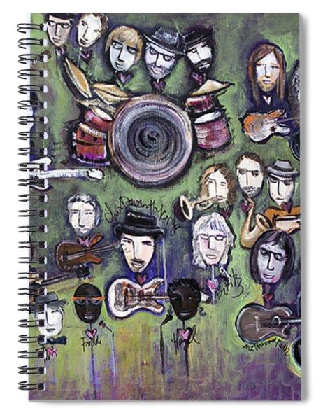 Chris Daniels And Friends Spiral Notebook