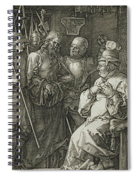Christ Before Caiaphas Spiral Notebook