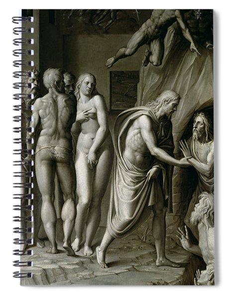 Christ In Limbo Spiral Notebook