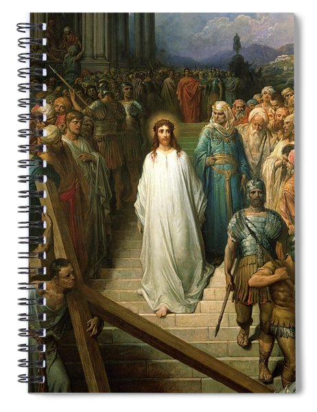 Christ Leaves His Trial Spiral Notebook