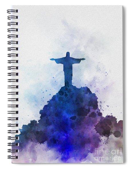 Christ The Redeemer Spiral Notebook
