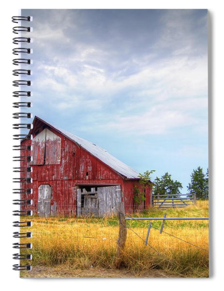 Christian School Road Barn Spiral Notebook