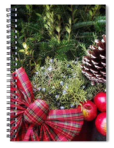Christmas Arrangement Spiral Notebook