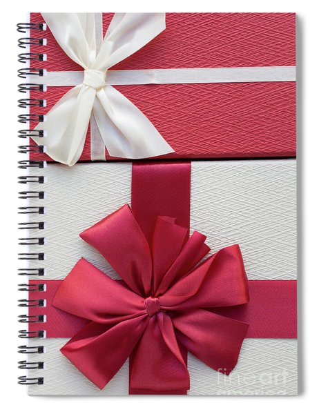Christmas Boxes Spiral Notebook