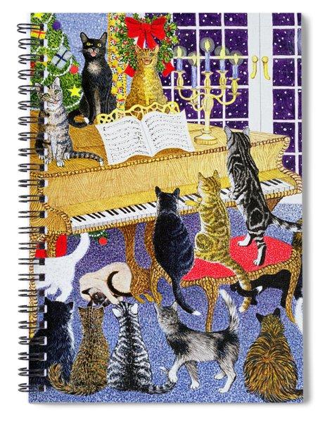 Christmas Chorus Spiral Notebook