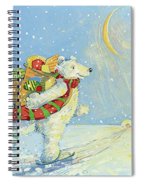 Christmas Homecoming Spiral Notebook