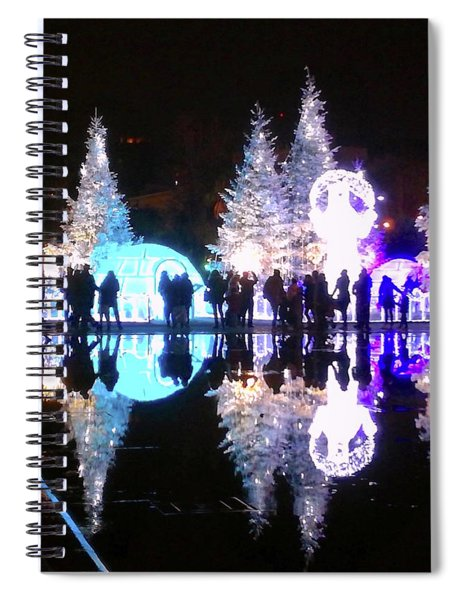 Christmas In Nizza, Southern France Spiral Notebook