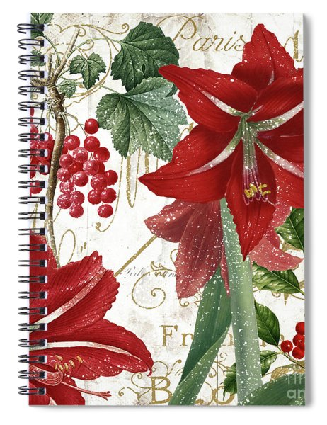 Christmas In Paris II Spiral Notebook