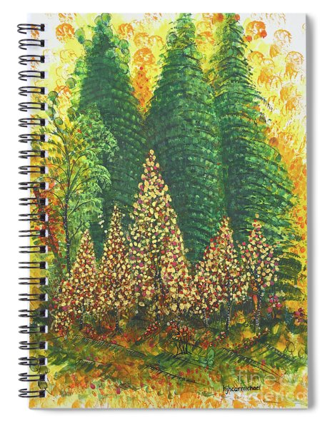 Christmas Is Coming Spiral Notebook