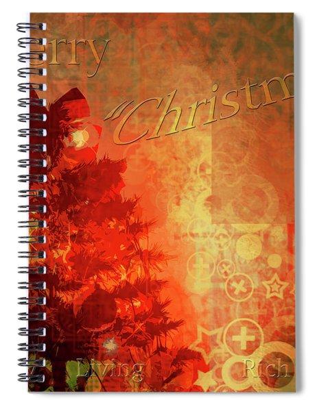 Christmas Luxury Spiral Notebook