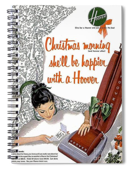 Christmas Morning She Will Be Happier With A Hoover Spiral Notebook