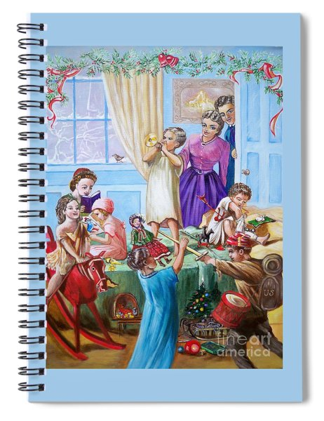 American History  We Say Merry  Christmas  Because It Is Christmas  Spiral Notebook