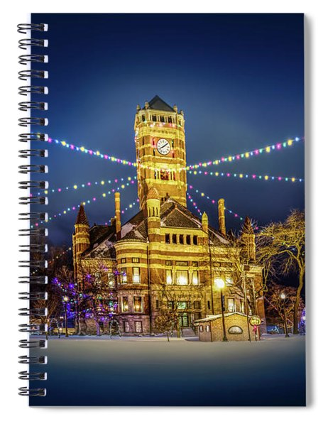 Christmas On The Square 2 Spiral Notebook