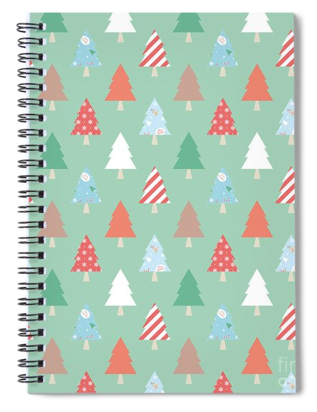 Christmas Pillow Spiral Notebook