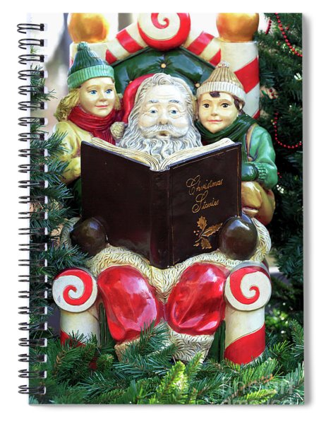 Christmas Stories In New Hope Spiral Notebook