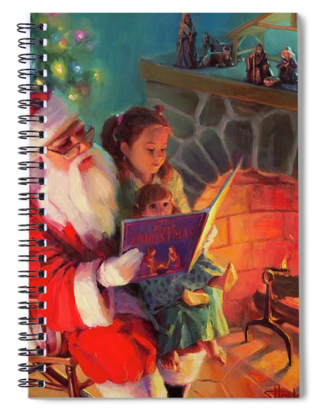 Christmas Story Spiral Notebook
